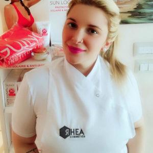 Chiara estetista professionale staff Centro Estetico Le Orme