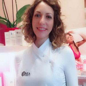 Laura Montrone Dermotecnologa staff Centro Estetico Le Orme